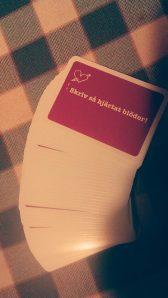 Skrivkortlek Skriv så hjärtat blöder!